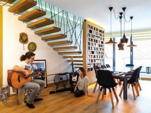 Atypický trnavský byt s nádychom exotiky