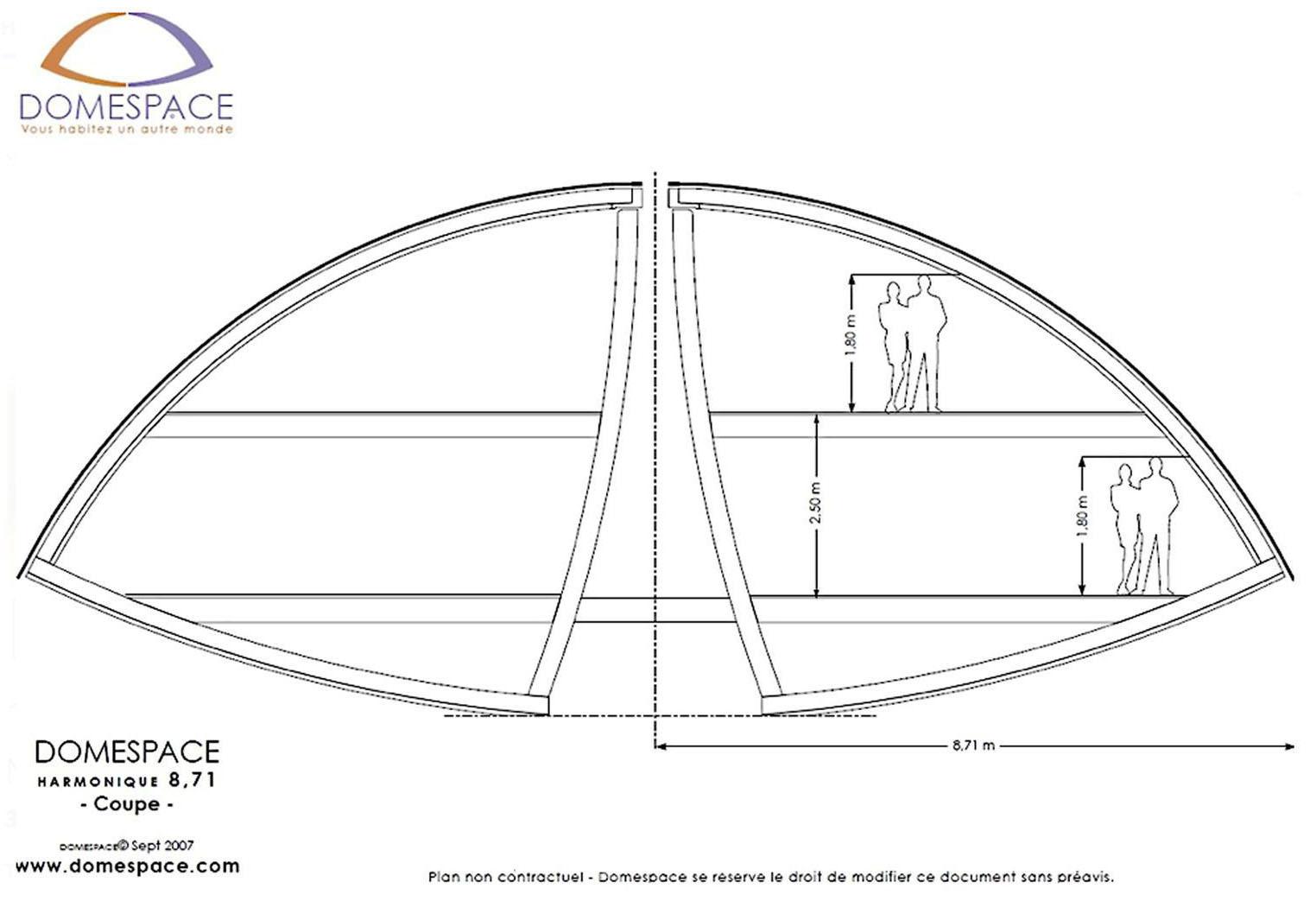 Drevodom v tvare lietajúceho taniera