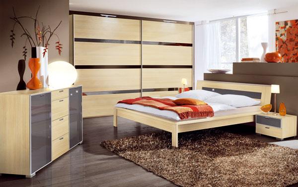Variabilný spálňový nábytok