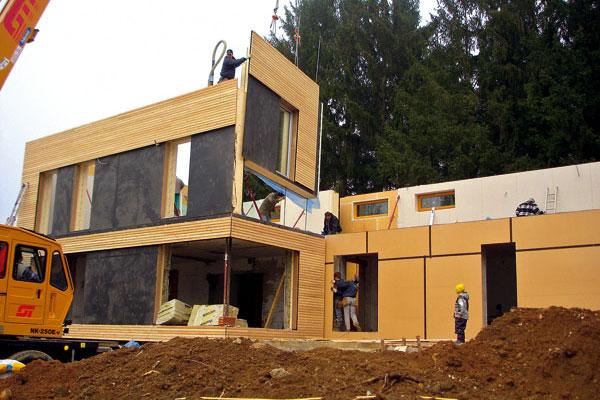 Pasívne domy na báze dreva