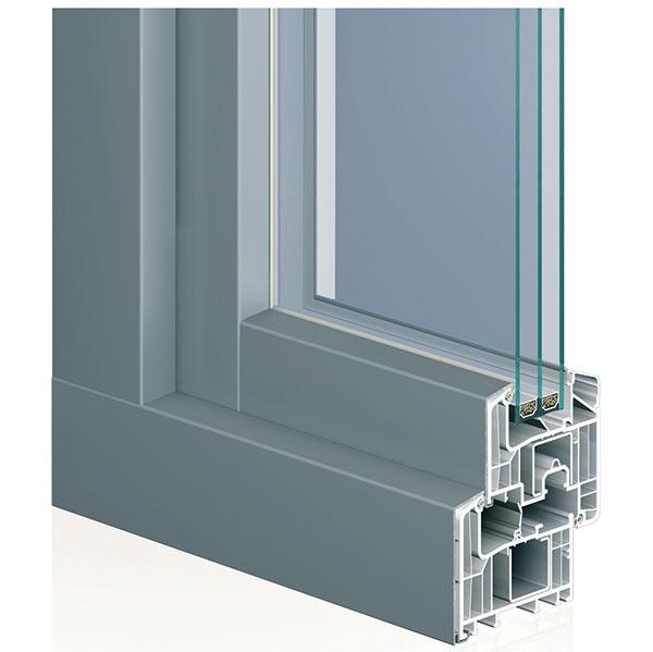 Profily vyrobené zo stabilizovaného tvrdeného PVC sa osvedčili pre svoje vlastnosti aprístupnú cenu.