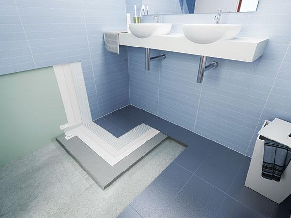 4 bleskové kroky k bezchybne obloženej kúpeľni