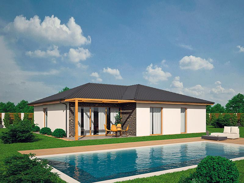 Variabilný bungalov, ktorý sa vám prispôsobí