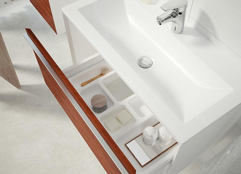 Kúpeľňový nábytok, ktorý si vystačí sám