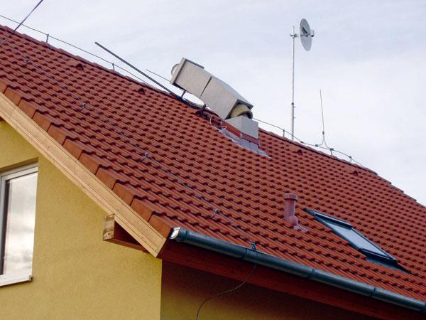 Poruchy a opravy komínov