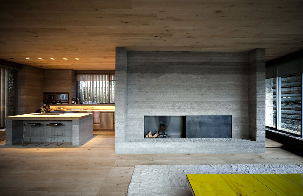 Nevyužitú stodolu premenili na pozoruhodný dom vo Švajčiarsku