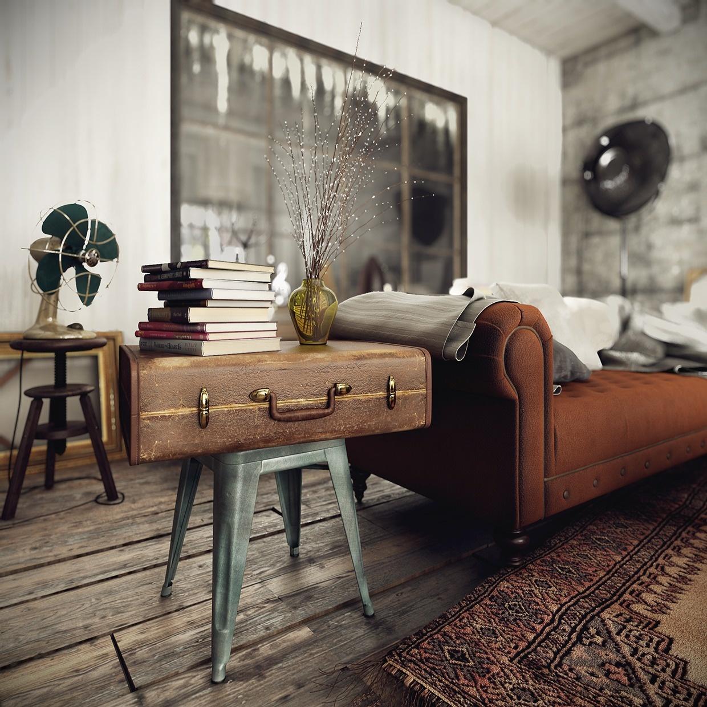 3 interiéry s (ne)tradičnými rustikálnymi prvkami
