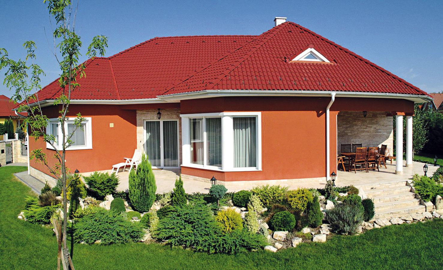 Strešnú krytinu Danubia charakterizuje klasický tvar s mäkkými líniami, ktoré majú evokovať rieku a zvlnenú krajinu.