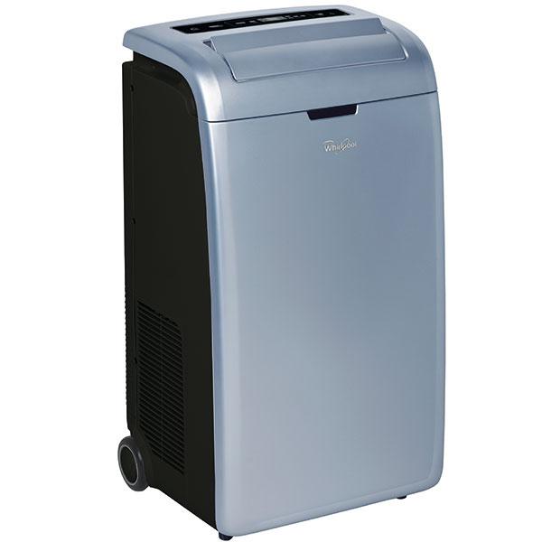 Whirlpool AMD 091-1  Prenosná klimatizácia vhodná do miestností sveľkosťou približne 70 m³. Rýchlo ochladí vzduch pomocou funkcií Jet aTurbo, ale aj ohrieva, vetrá audržiava optimálnu vlhkosť vzduchu. Funkcia 6. zmysel automaticky reguluje činnosť jednotky, funkcia Sleep umožní nerušený spánok. Súčasťou výbavy je diaľkový ovládač sukazovateľom teploty aumývateľný antibakteriálny filter. Odporúčaná cena 500 €.