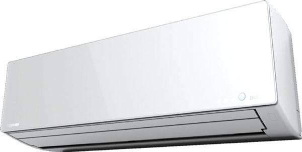 Toshiba Super Daiseikai 8    Nástenná klimatizačná jednotka Výkon (chladenie/vykurovanie): 2,5/3,2 kW Energetická trieda: A+++ Hlučnosť (hladina akustického hluku/akustický výkon):  42/24/57 dB(A) Funkcie: kompresor sdvojitými rotačnými piestami zabezpečujúci maximálnu účinnosť, veľká vzduchová lamela na optimálnu distribúciu vzduchu, EKOprevádzka, účinný umývateľný plazmový filter, funkcia samočistenia.  365 € vonkajšia jednotka,  660 € vnútorná jednotka