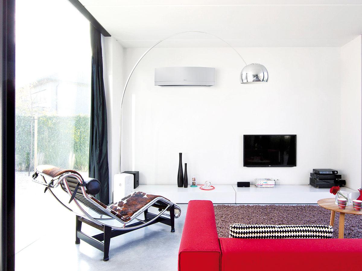 Aj odizajne. Keďže klimatizácie bývajú vinteriéri obvykle umiestnené na exponovaných miestach, výrobcovia neustále vylepšujú ich vzhľad.