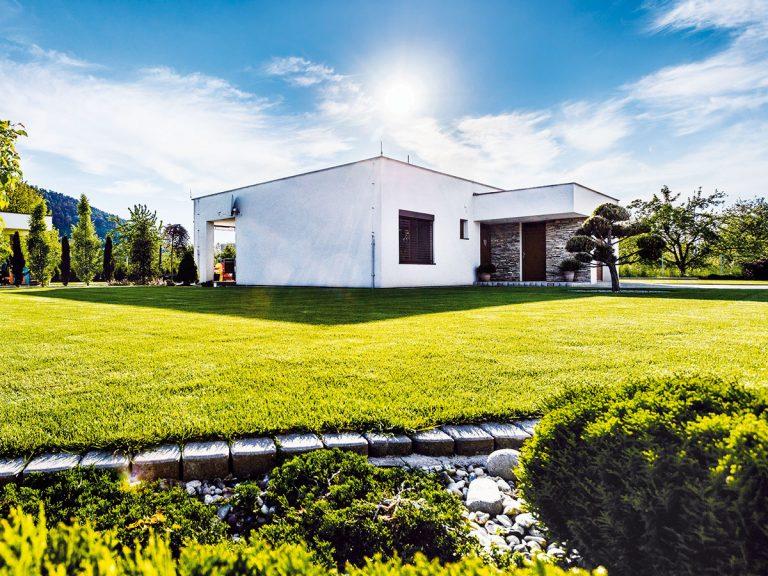 Prízemný rodinný dom z tehly s mesačnými nákladmi na bývanie 100 €