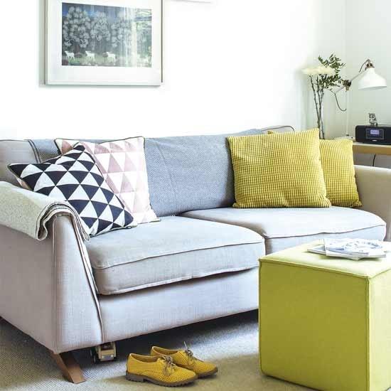 Inšpirácia: obývacia izba◦textil