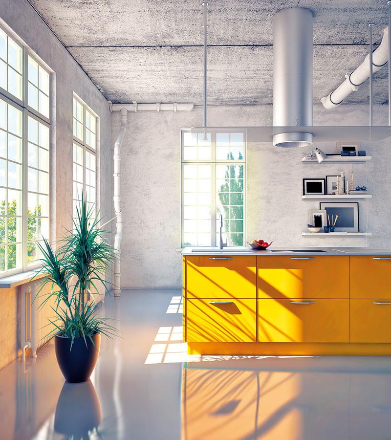 Nudný, sivý, neatraktívny, studený? Omyl! Čoraz častejšie sa aj vinteriéri nechávajú betónové konštrukcie priznané. Dostupný je totiž tzv. pohľadový architektonický betón, ktorý vďaka špeciálnym prímesiam spĺňa vysoké technologické aj estetické nároky.