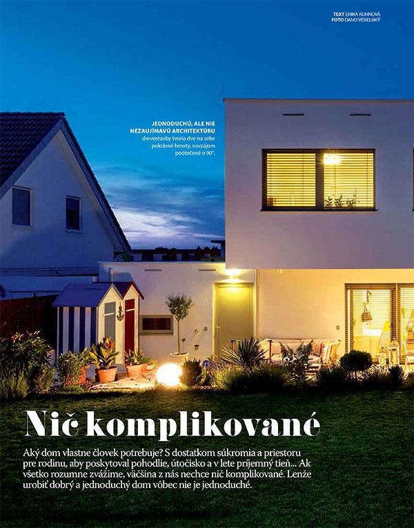 Októbrový Môj dom už v predaji. Až 192 strán len za 1,63 €