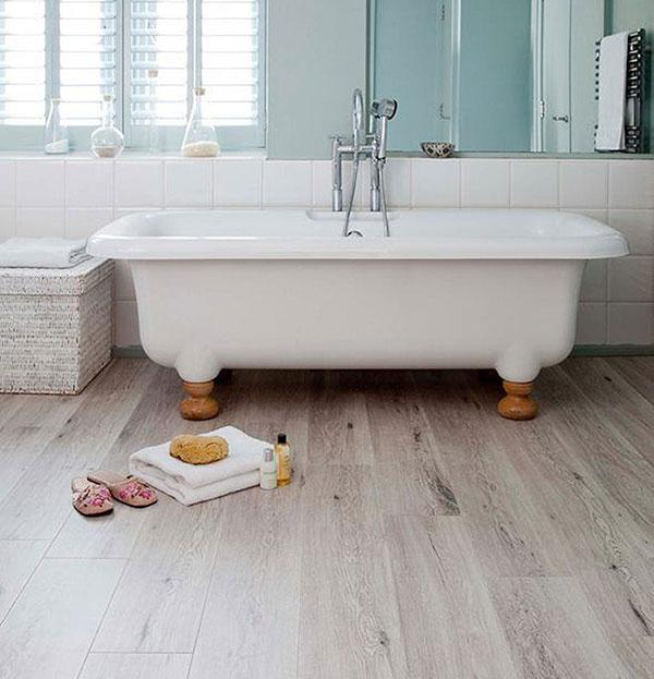 Korková podlaha s dekorom Printcork Oak Blanc, predáva www.korok.sk.