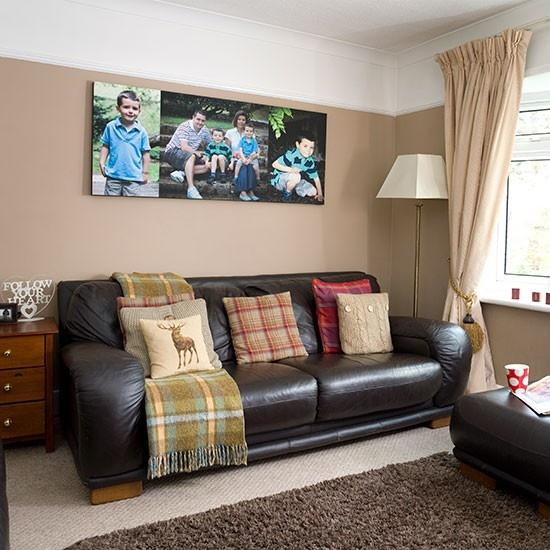Inšpirácia: obývacia izba