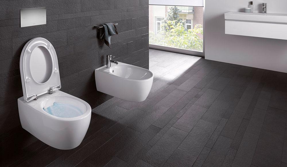 WC bez oplachovacieho kruhu Rimfree® šetrí vodu a čistiace prostriedky