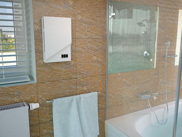 KORASMART 1200 rieši zvýšenú vlhkosť v kúpeľni