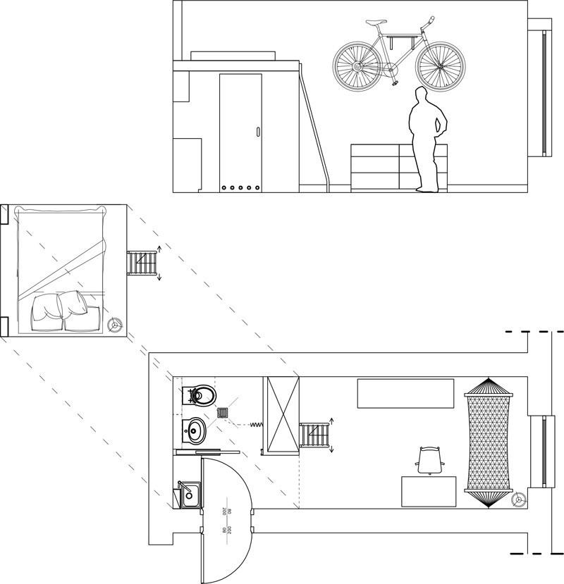 Pohodlný život na 13 štvorcových metroch