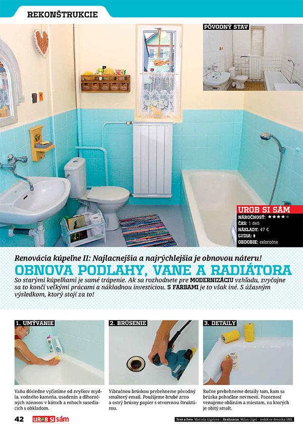 Novembrové vydanie Urob si sám je tu! Čím kúriť? Obnova kúpeľne za 88 eur!
