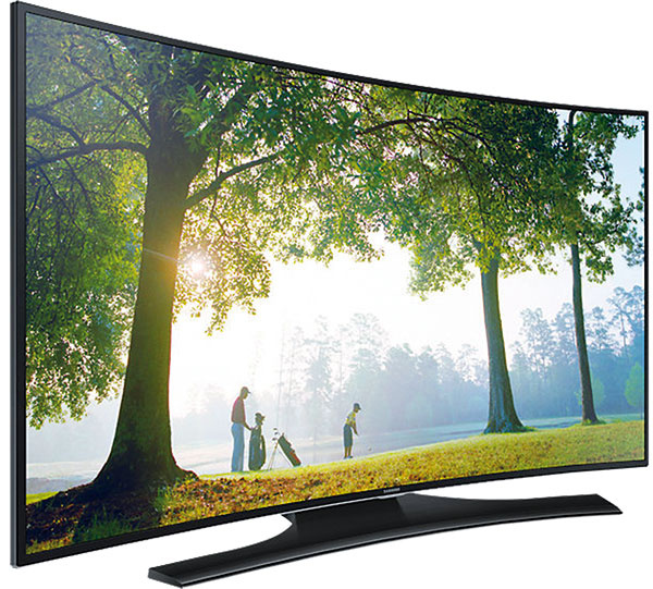1x Televízor Samsung, zakrivená, FullHD, 3 D Smart, uhlopriečka 121 cm a zakrivený Soundbar