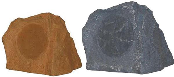 1x Exteriérové reproduktory Taga Sandstone a Granite v imitácii kameňa