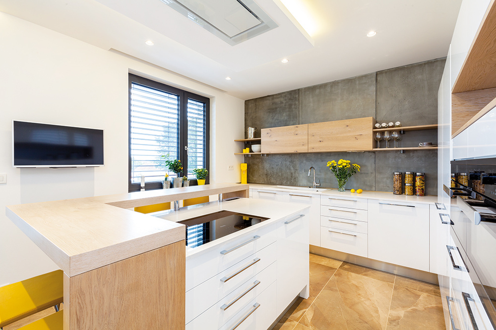 Originálna a nadčasová kuchyňa, ktorá majiteľov nikdy neomrzí