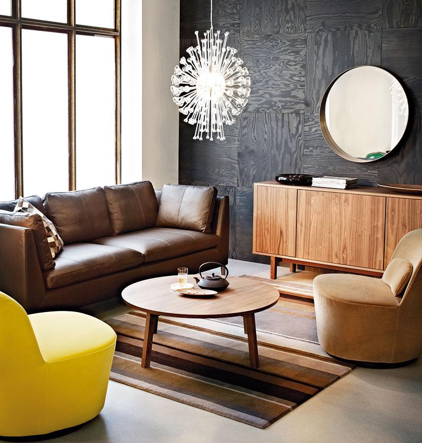 Znovuobjavené 60. roky panujú aj vkolekcii Stockholm značky IKEA. Nábytok adoplnky inšpirované týmto obdobím so súčasným puncom vhodne zapadnú aj do moderného mestského interiéru apríjemne ho zohrejú.