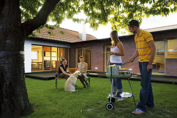 Projekt rodinných domov v Hubiciach