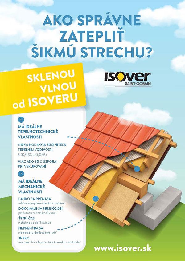 Pri zateplení šikmej strechy vyberajte kvalitný materiál
