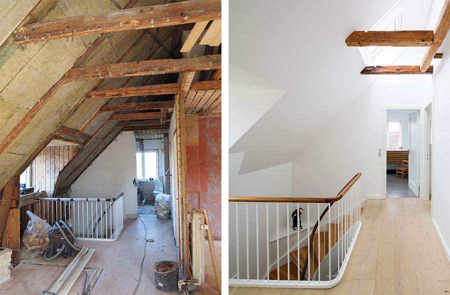 Pred a po: majitelia sa počas prestavby podkrovia pohrali s nedostatkami domu.