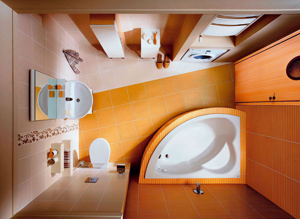 Praktická kúpeľňa
