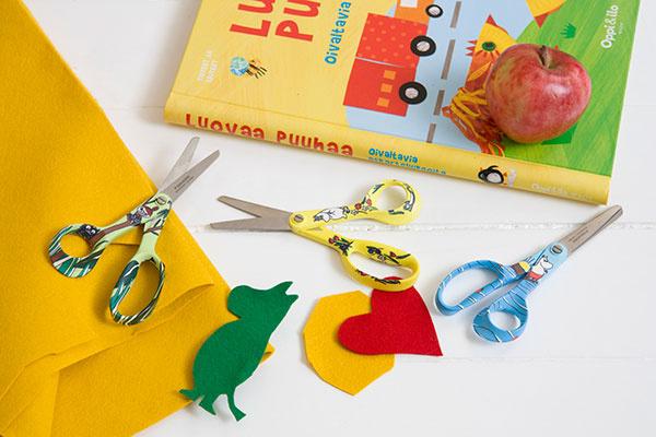 Žiadne dieťa nebude určite sklamané z kvalitných nožníc Moomin z nerezovej ocele vo veselom obrázkovom prevedení.