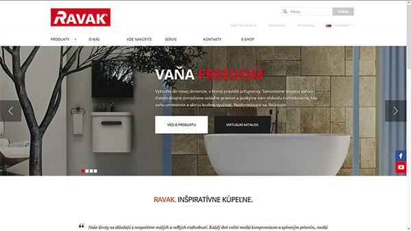 Kúpeľňové vybavenie na webe v novej podobe