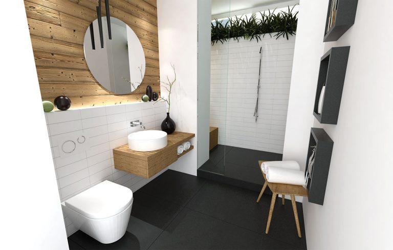 Ako z tmavej a chladnej kobky vytvoriť krásnu kúpeľňu