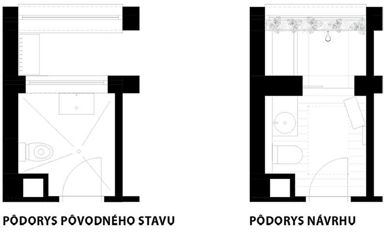 Najväčším bonusom po rozšírení plochy je priestranný sprchový kút so sedákom, ktorý môže byť vyhrievaný. Vďaka tomuto rozmeru navyše nie je potrebné kút úplne uzatvárať zasklenými dverami.