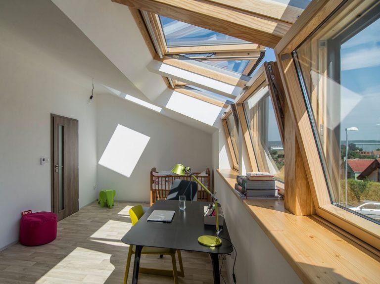 Pokojné bývanie v presvetlenom rodinnom dome na okraji Brna