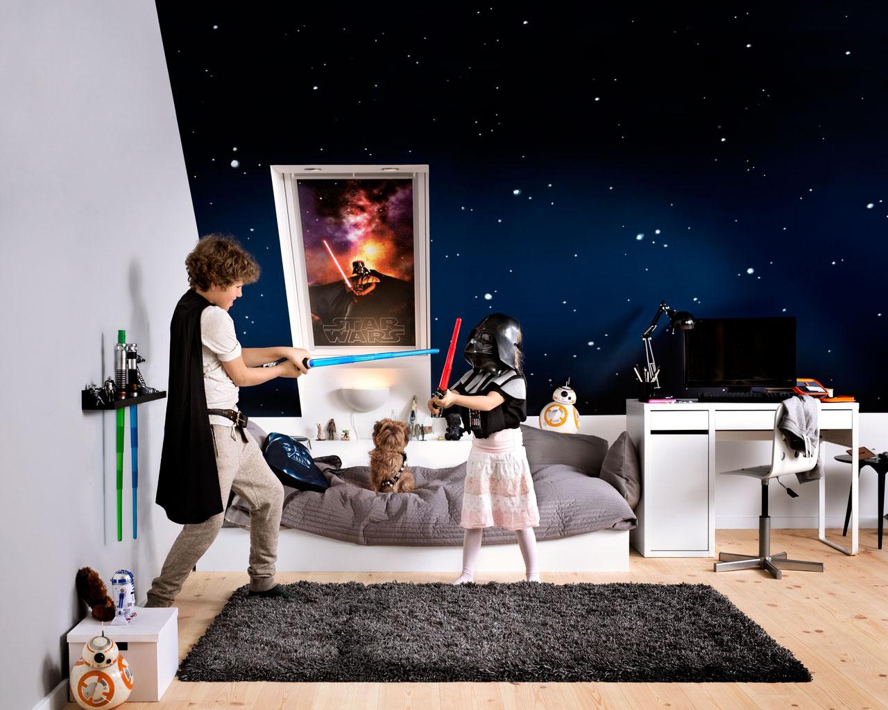 Motív Star Wars privedie hrdinov filmovej ságy do každej podkrovnej izby.