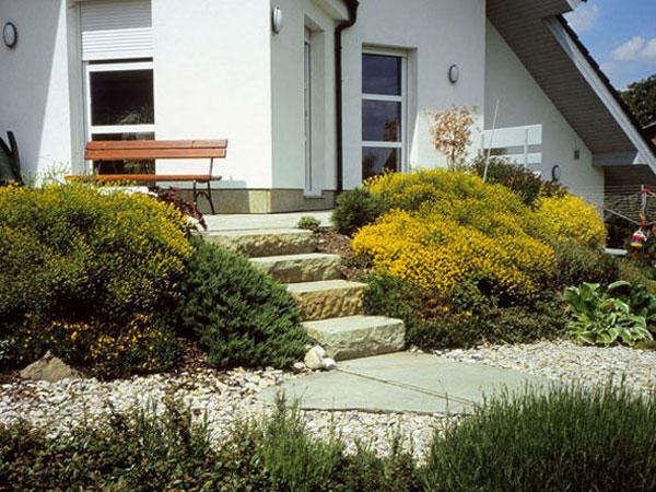 Riešenia pre záhradu na svahu