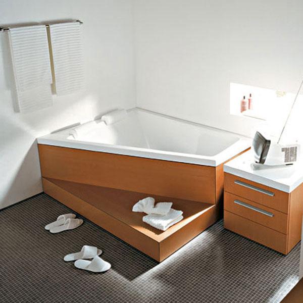 Vyberte si materiál na steny vo vašej kúpeľni