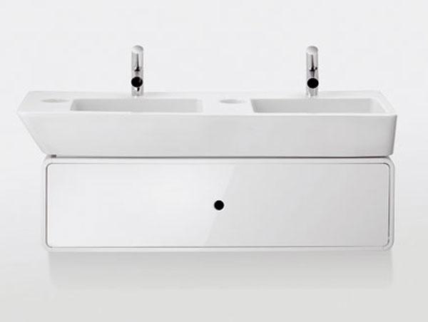 Harmónia tvarov, materiálov a farieb v kúpeľni
