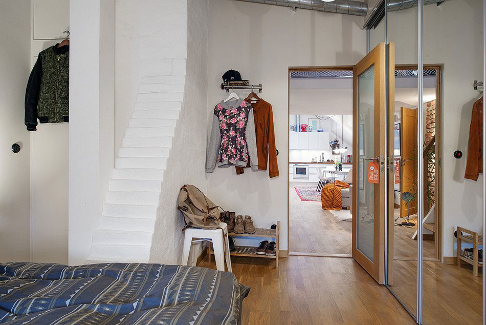 Útulný podkrovný byt v príjemných farbách a s krásnym výhľadom na mesto