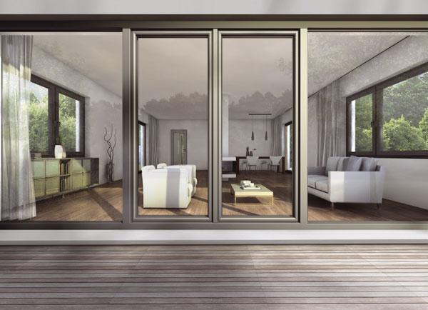 Titanium Plus – plastové okno s dizajnom kovu