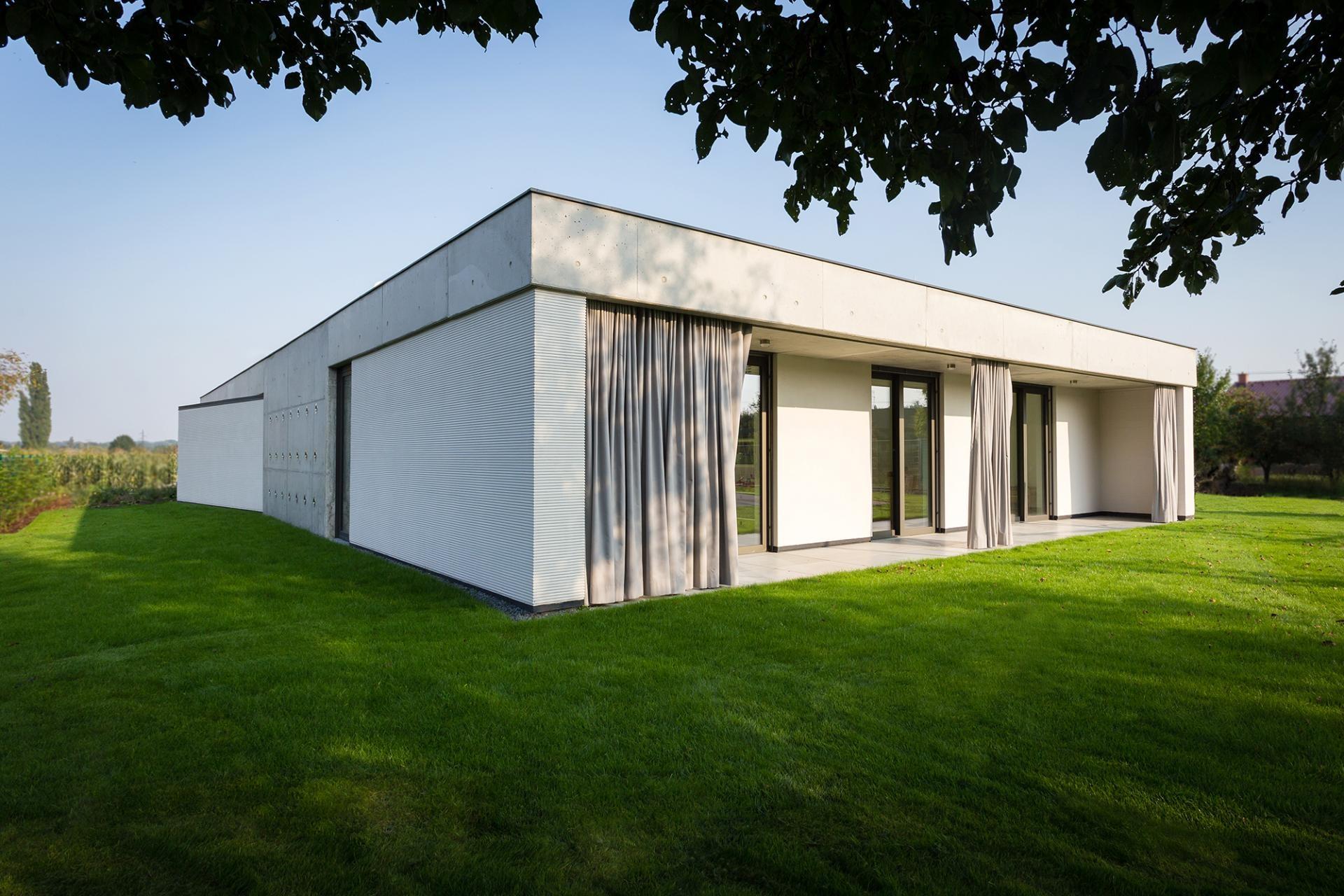 Moderný jednopodlažný dom v Olomouci