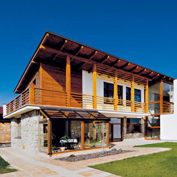 Fasády pre energeticky úsporné domy
