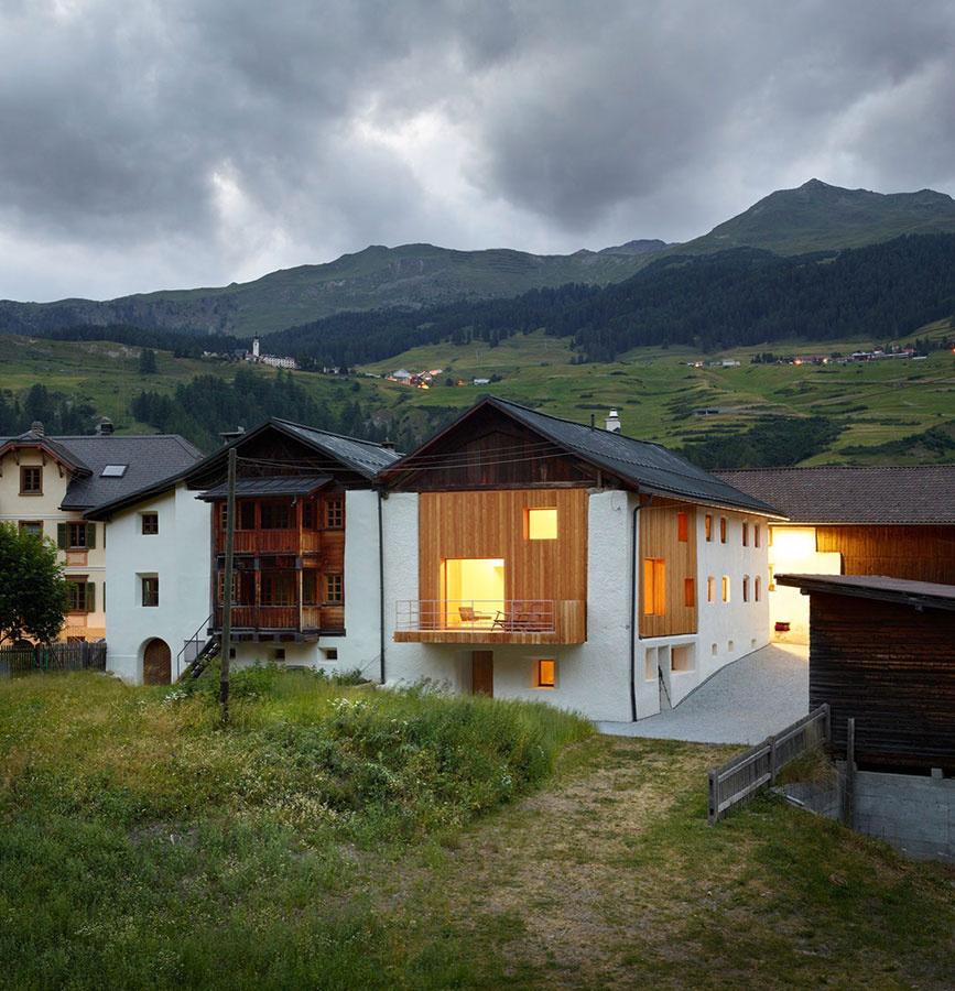 Nádherná rekonštrukcia starého domu rešpektujúca lokálny kolorit horskej dediny
