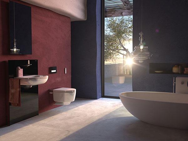Toalety Geberit AquaClean dramaticky zvyšujú komfort pri použití toalety.
