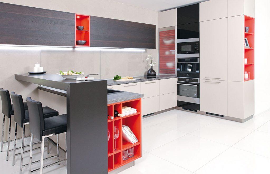 Ako rozvrhnúť kuchyňu a pravidlá jej zónovania