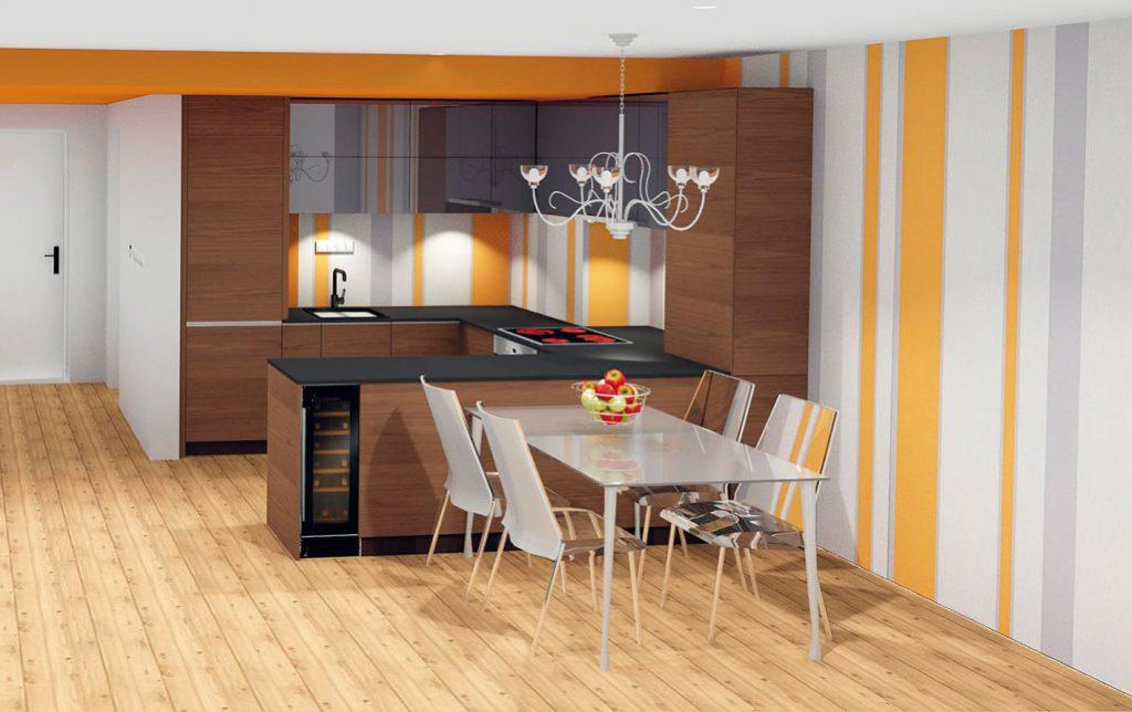 Ako prepojiť kuchyňu s obývačkou bez navýšenia predpokladaného rozpočtu